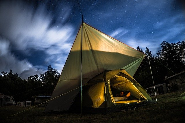 kissen camping